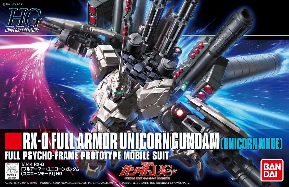 HGUC 1/144 RX-0 フルアーマー・ユニコーンガンダム(ユニコーンモード) パッケージアート