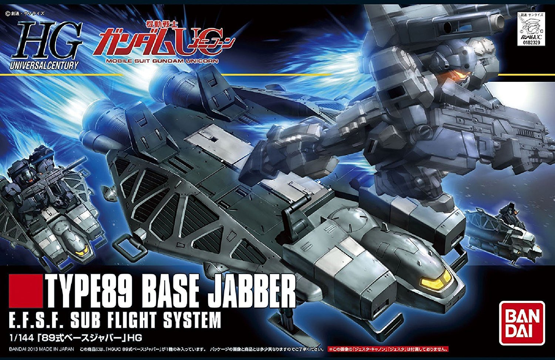 HGUC 1/144 89式ベースジャバー [Base Jabber Type 89]