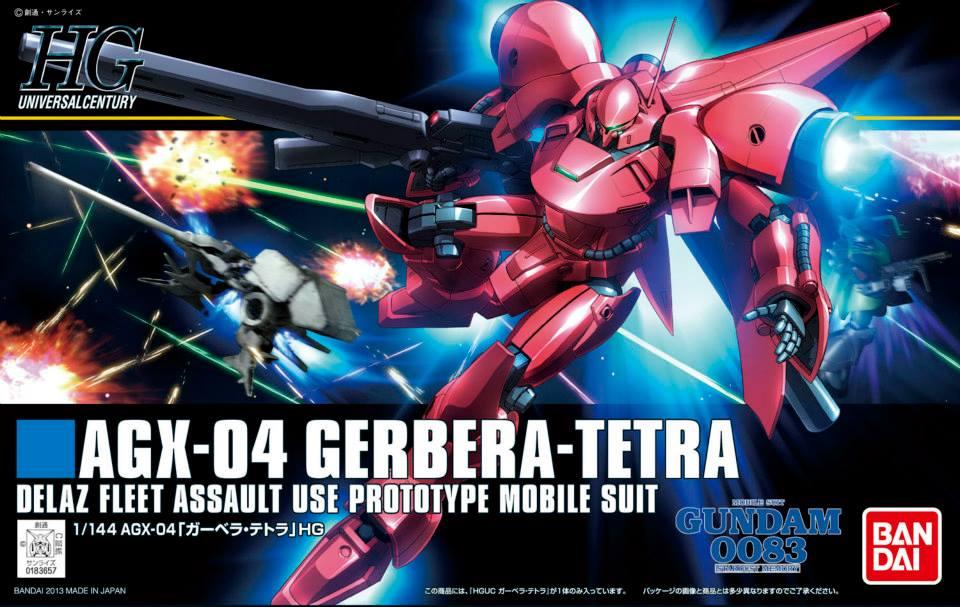 HGUC 1/144 AGX-04 ガーベラ・テトラ [Gerbera Tetra] 5055886 0183657