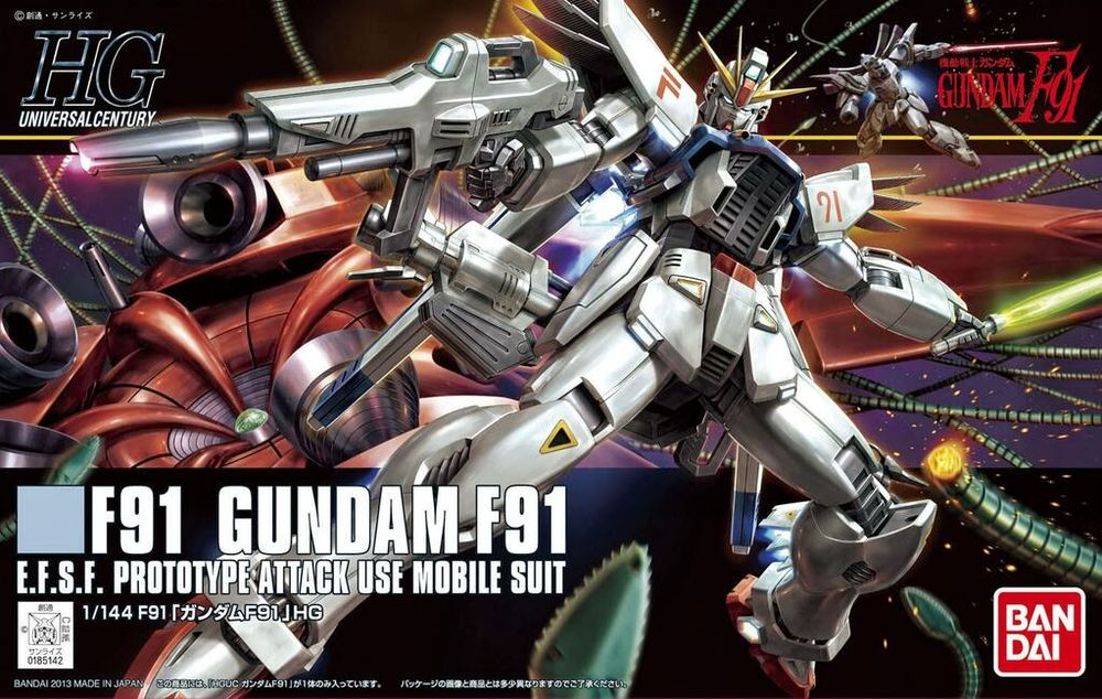 HGUC 1/144 F91 ガンダムF91 [Gundam F91]
