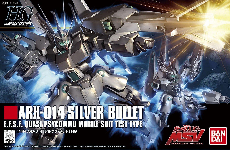 HGUC 1/144 ARX-014 シルヴァ・バレト [Silver Bullet] パッケージアート