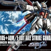 HGCE 1/144 GAT-X105+AQM/E-X01 エールストライクガンダム
