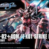 HGCE 1/144 MBF-02+AQM/E-X01 ストライクルージュ [Strike Rouge] パッケージ