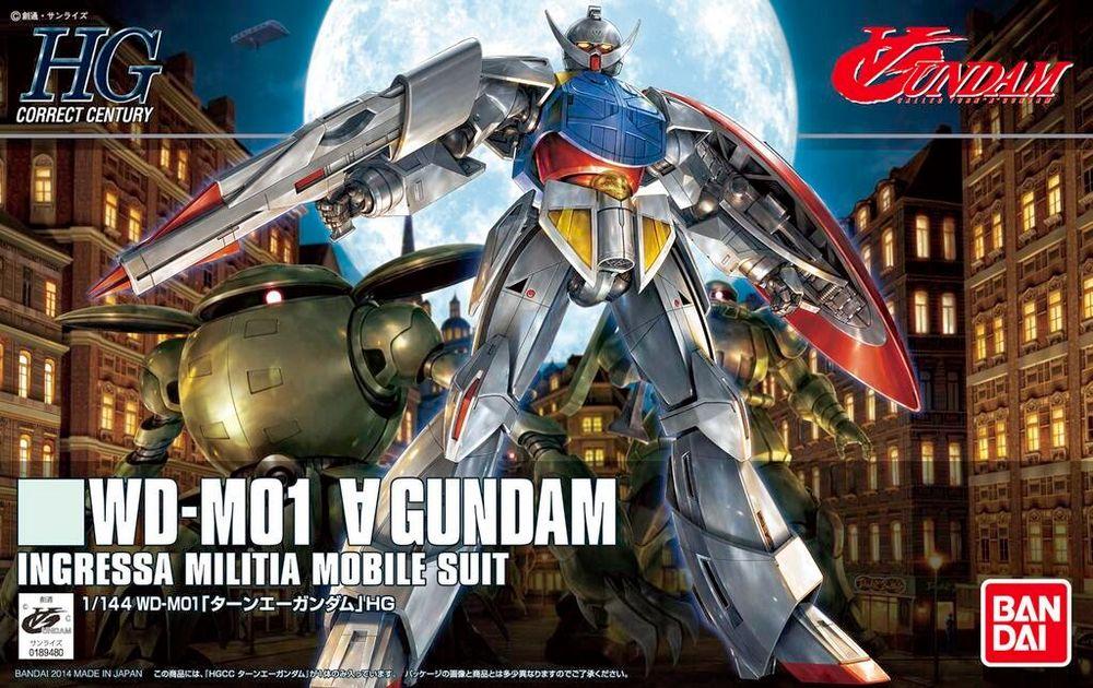 HGCC 1/144 WD-M01 ターンエーガンダム [∀ Gundam]