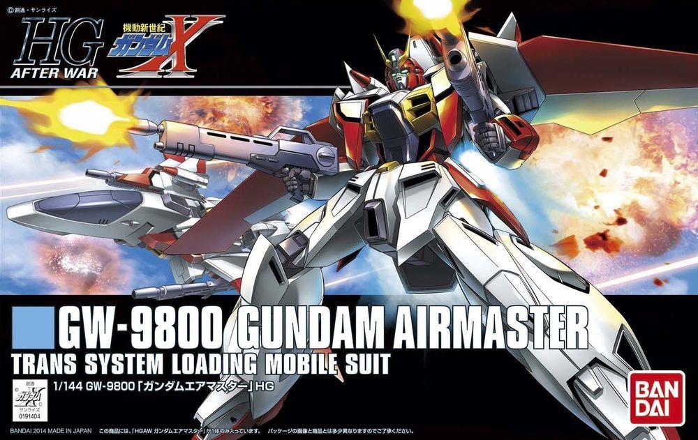 HGAW 1/144 GW-9800 ガンダムエアマスター [Gundam Airmaster]