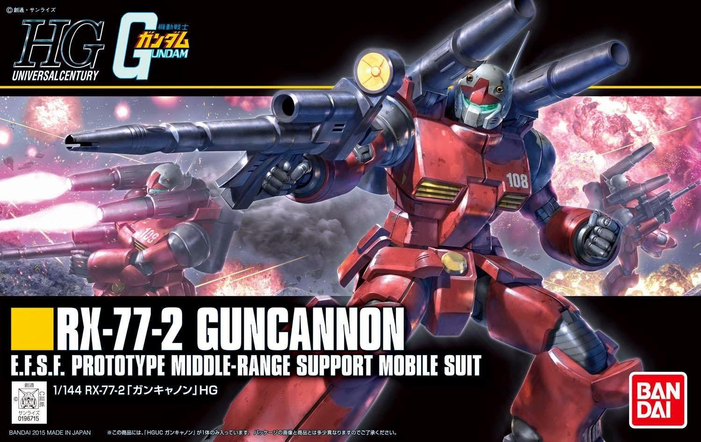 HGUC 190 1/144 REVIVE RX-77-2 ガンキャノン [Guncannon] 5057402 0196715 4543112967152 4573102574022