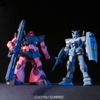 HGUC 1/144 G-3ガンダム + シャア専用リック・ドム [RX-78-3 Gundam + MS-09RS Rick-Dom] 公式画像1