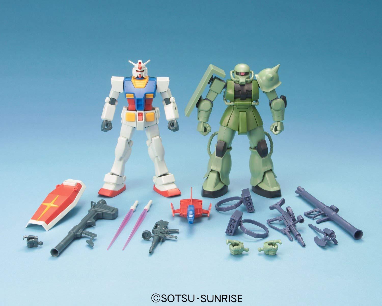 HGUC 1/144 ガンプラスターターセット ガンダム vs. 量産型ザク [Gunpla Starter Set: RX-78-2 Gundam vs. MS-06F Zaku II]