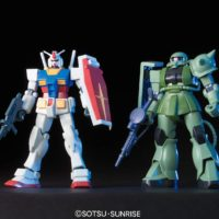 HGUC 1/144 ガンプラスターターセット ガンダム vs. 量産型ザク [Gunpla Starter Set: RX-78-2 Gundam vs. MS-06F Zaku II] 公式画像2
