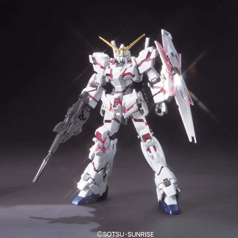 2564HGUC 1/144 RX-0 ユニコーンガンダム(デストロイモード)チタニウムフィニッシュ [Unicorn Gundam (Destroy Mode) (Titanium Finish)]