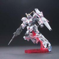 HGUC 1/144 RX-0 ユニコーンガンダム(デストロイモード)チタニウムフィニッシュ [Unicorn Gundam (Destroy Mode) (Titanium Finish)] 公式画像2