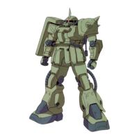 MS-06F-2 ザクII F2型 [ノイエン・ビッター少将専用機][Zaku II F2 Type Neuen Bitters Custom]