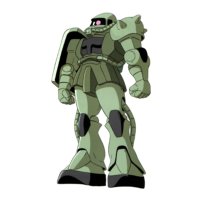 "MS-06C ザクII C型〈初期量産型ザクII〉 [Zaku II C Type ""Early Production Type""]"