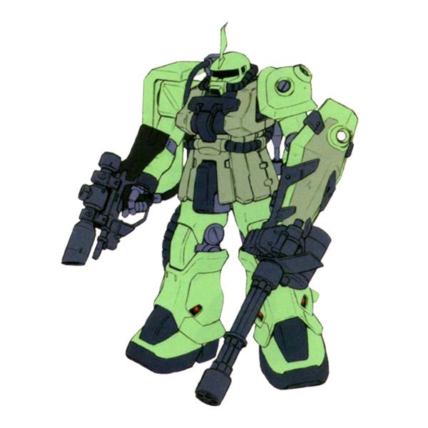 MS-06F-2 ザクII F2型 (測距手用) [Zaku II F2 Type (Rangefinder)]