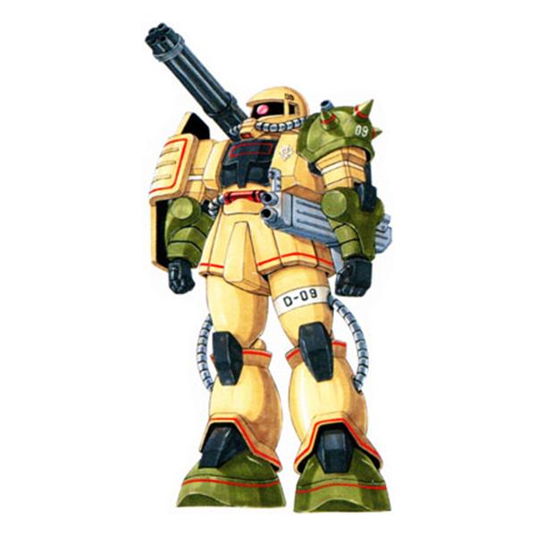 MS-06JK ザク・ハーフキャノン [Zaku Half Cannon]