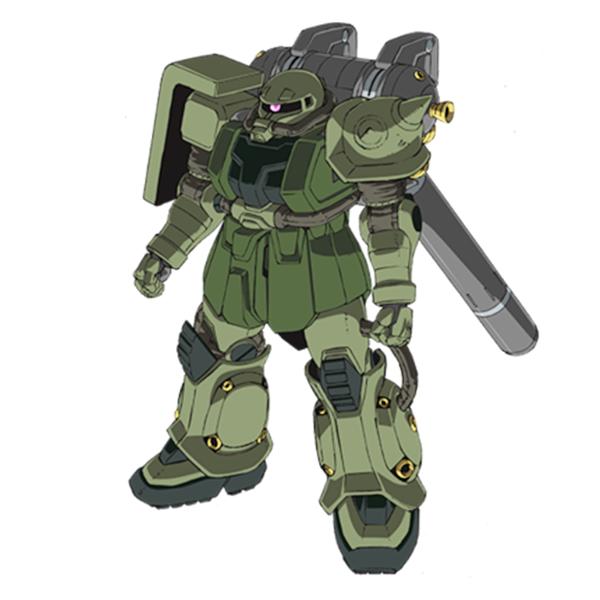 MS-06 量産型ザクII 《サンダーボルト》
