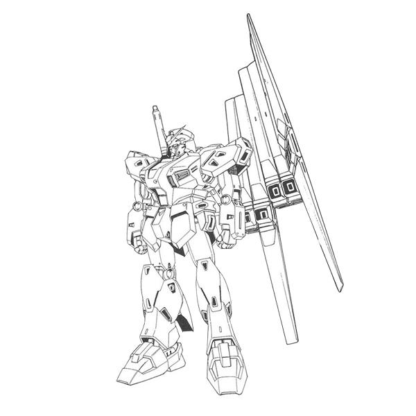 RX-94 量産型νガンダム(フィン・ファンネル装備型) [Mass Production Type ν Gundam (w/Fin Funnels)]