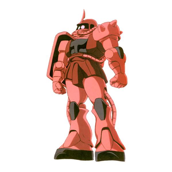 MS-06S 指揮官用ザクII [シャア・アズナブル機] [Zaku II S Type (Commander Type) Char's Custom]