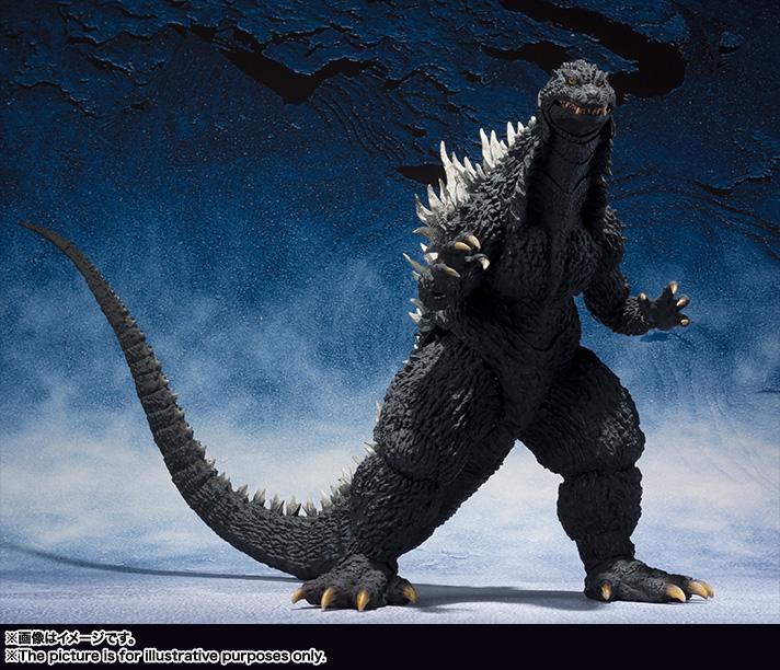 バンダイ S.H.MonsterArts ゴジラ (2002)