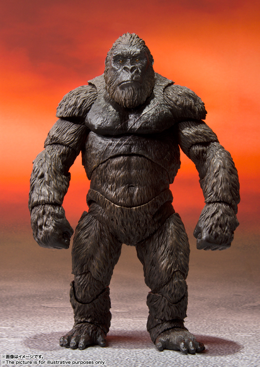 S.H.MonsterArts KONG FROM GODZILLA VS. KONG(2021)