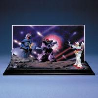 ガンダム情景模型 1/250 D 宇宙要塞ア・バオア・クー 公式画像1