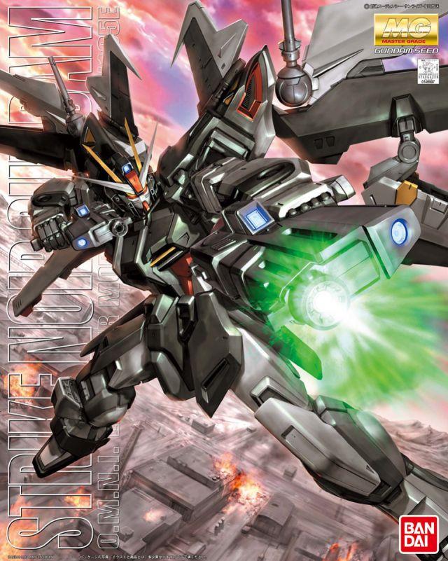 MG 1/100 GAT-X105E ストライクノワールガンダム [Strike Noir Gundam]