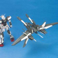MG 1/100 GAT-X105 ストライクガンダム + I.W.S.P. [Strike Gundam + I.W.S.P.] 公式画像4