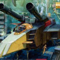 MG 1/100 Gファイター [ガンダム Ver.2.0用 V作戦モデル] [G-Fighter] パッケージ