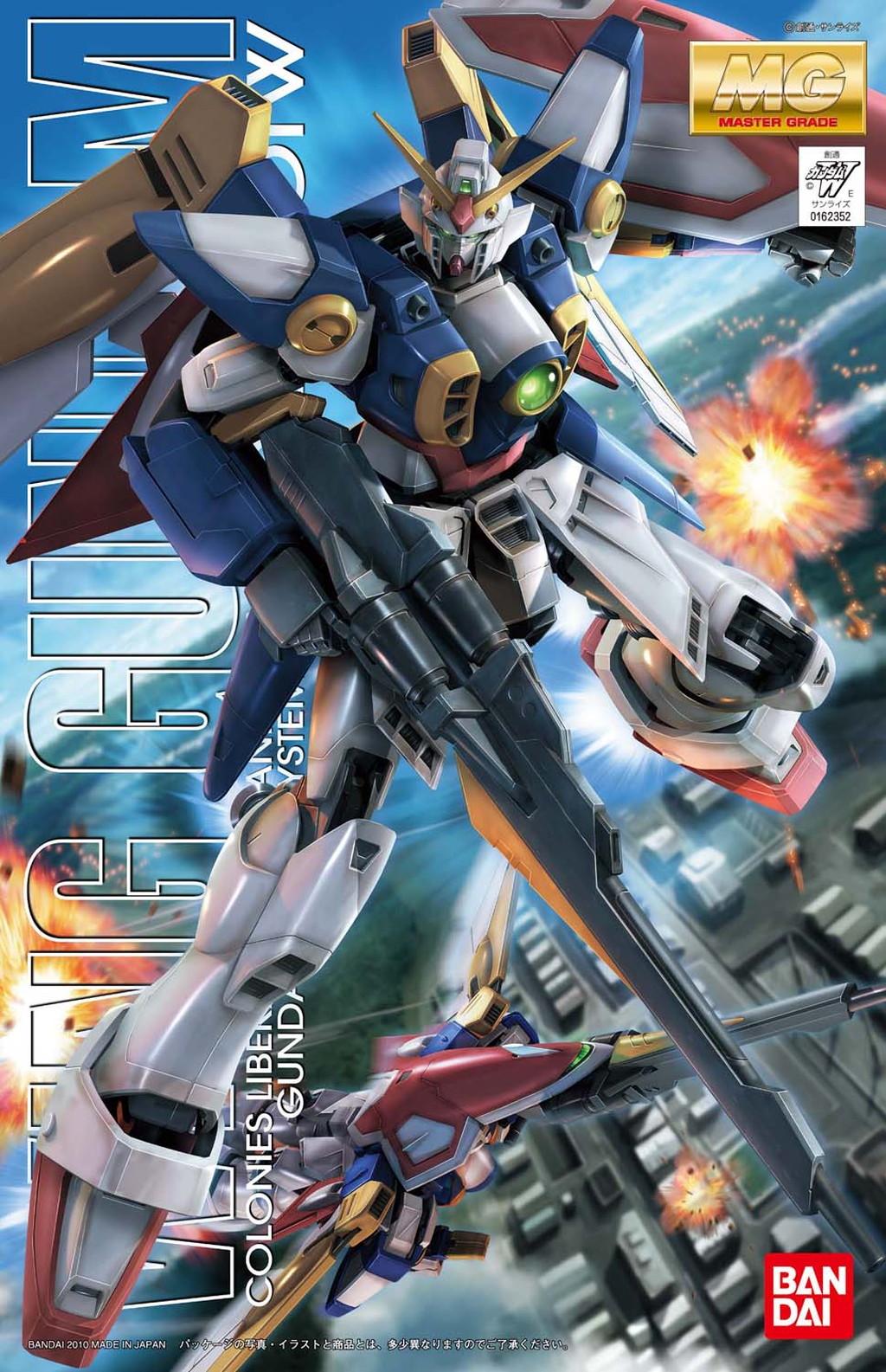 MG 1/100 XXXG-01W ウイングガンダム [Wing Gundam] 0162352 4543112623522