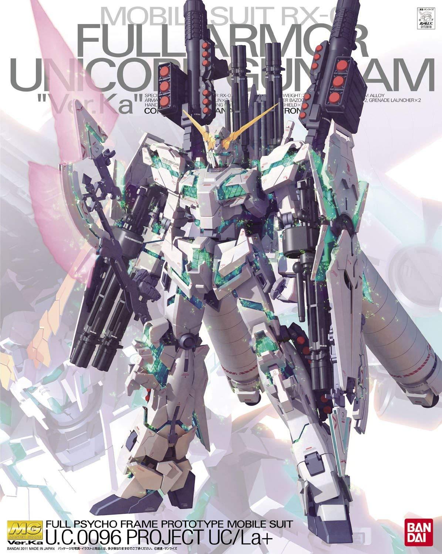 "MG 1/100 RX-0 フルアーマーユニコーンガンダム Ver.Ka [Full Armor Unicorn Gundam ""Ver.Ka""] 5061589 4573102615893 0172818 4543112728180"