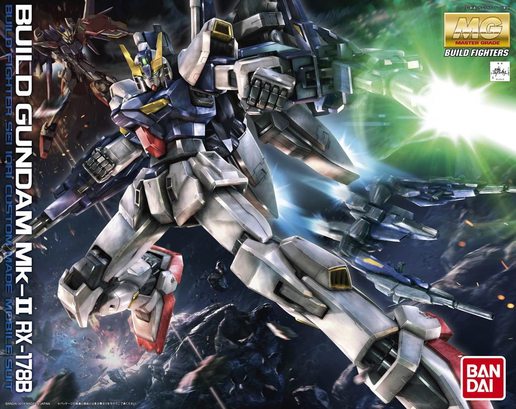 MG 1/100 RX-178B ビルドガンダムMk-II [Build Gundam Mk-II]