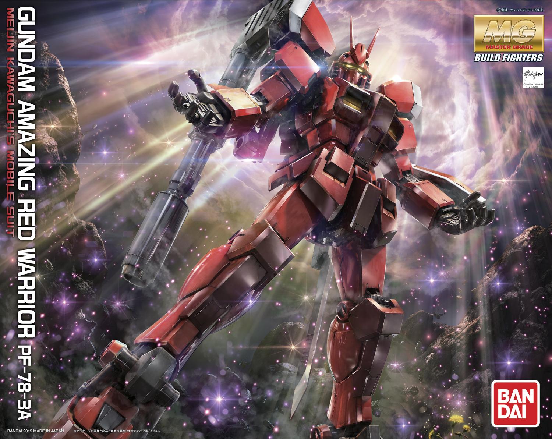 MG 1/100 PF-78-3A ガンダムアメイジングレッドウォーリア [Gundam Amazing Red Warrior]