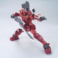 MG 1/100 PF-78-3A ガンダムアメイジングレッドウォーリア [Gundam Amazing Red Warrior] 公式画像2