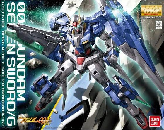 MG 1/100 GN-0000GNHW/7SG ダブルオーガンダム セブンソード/G [00 Gundam Seven Sword/G]