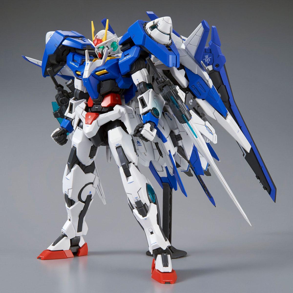 MG 1/100 GN-0000+GNR-010/XN ダブルオーザンライザー [00 XN Raiser]