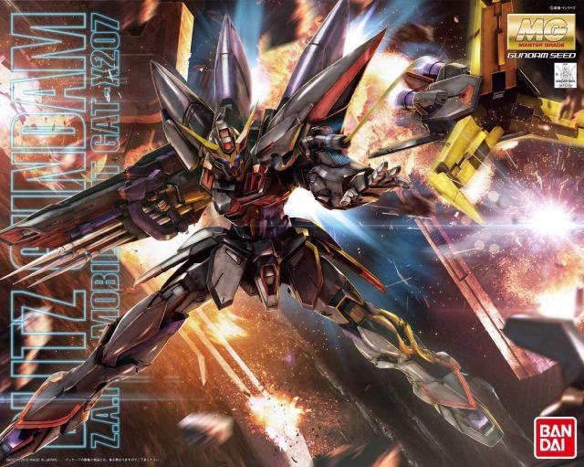 MG 1/100 GAT-X207 ブリッツガンダム [Blitz Gundam]