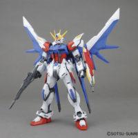 MG 1/100 GAT-X105B/FP ビルドストライクガンダムフルパッケージ [Build Strike Gundam Full Package] 素組画像