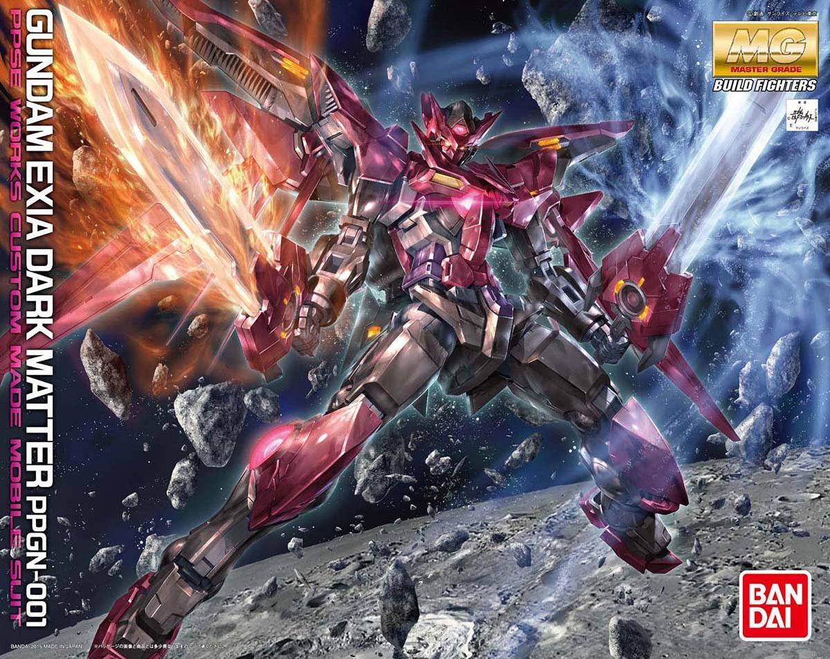 MG 1/100 PPGN-001 ガンダムエクシアダークマター [Gundam Exia Dark Matter]