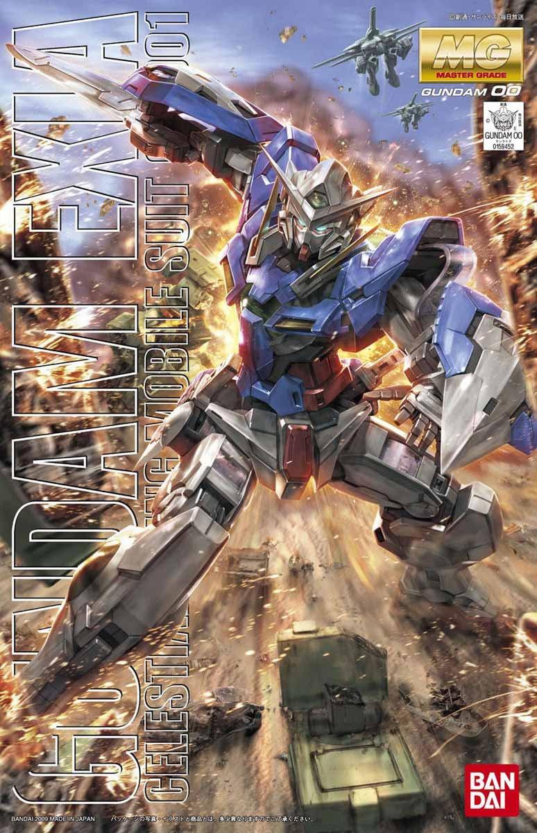 MG 1/100 GN-001 ガンダムエクシア [Gundam Exia]