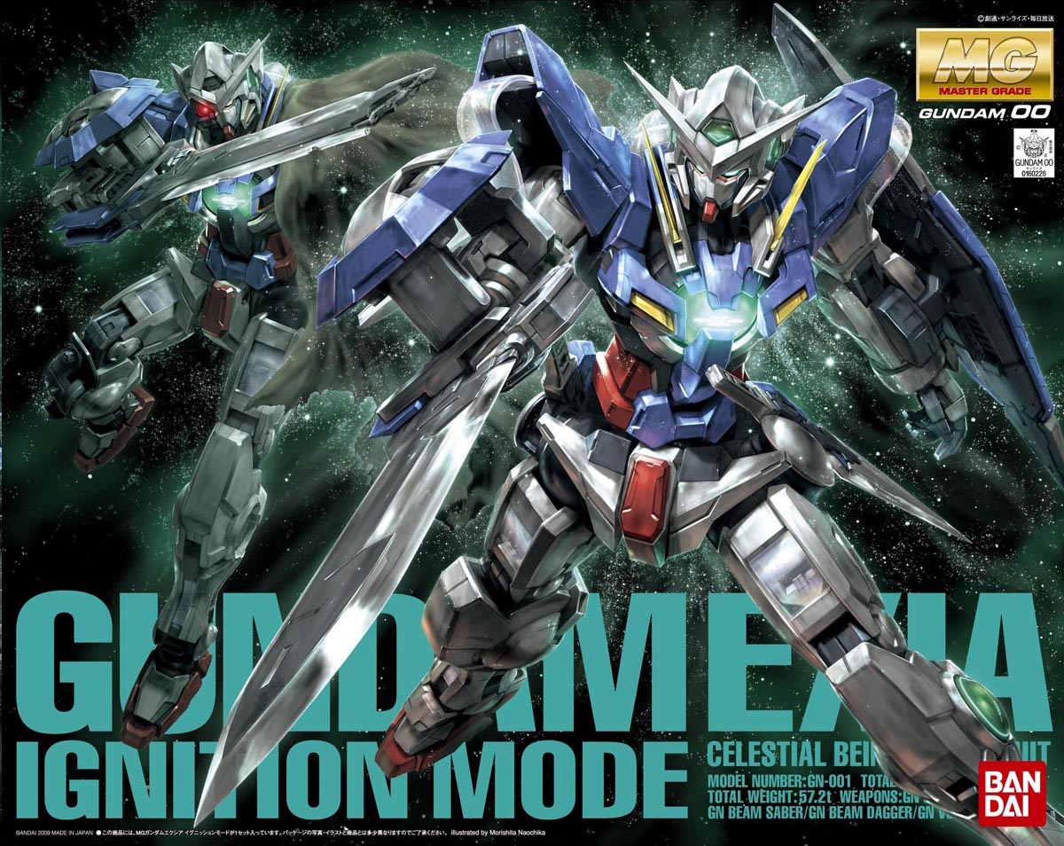 MG 1/100 GN-001 ガンダムエクシア イグニッションモード