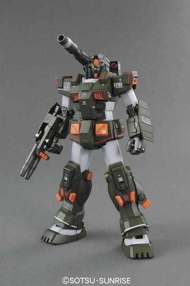 59624MG 1/100 FA-78-1 フルアーマーガンダム [Full Armor Gundam]