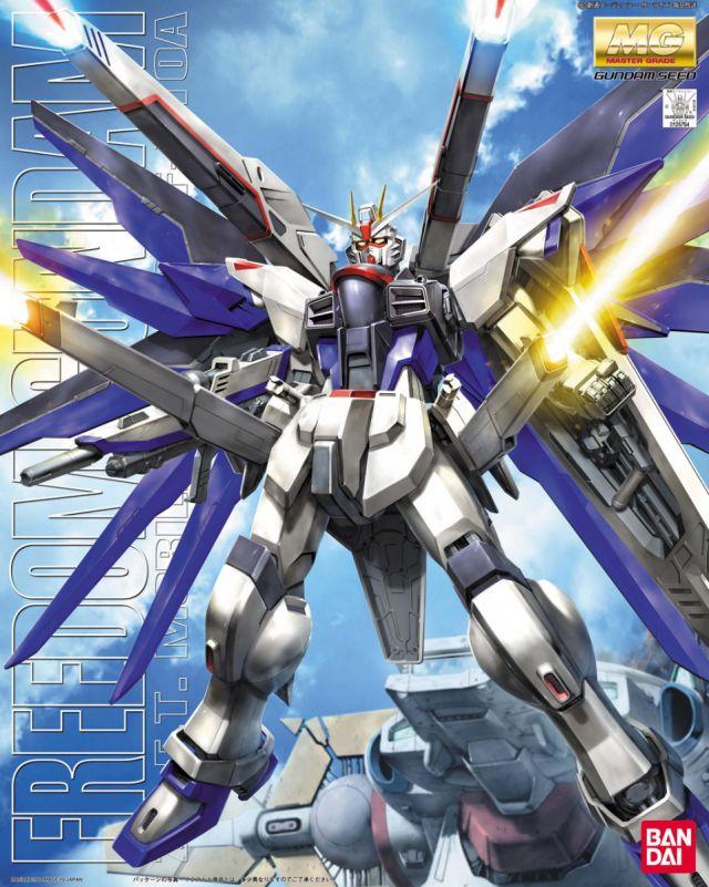 MG 1/100 ZGMF-X10A フリーダムガンダム [Freedom Gundam]