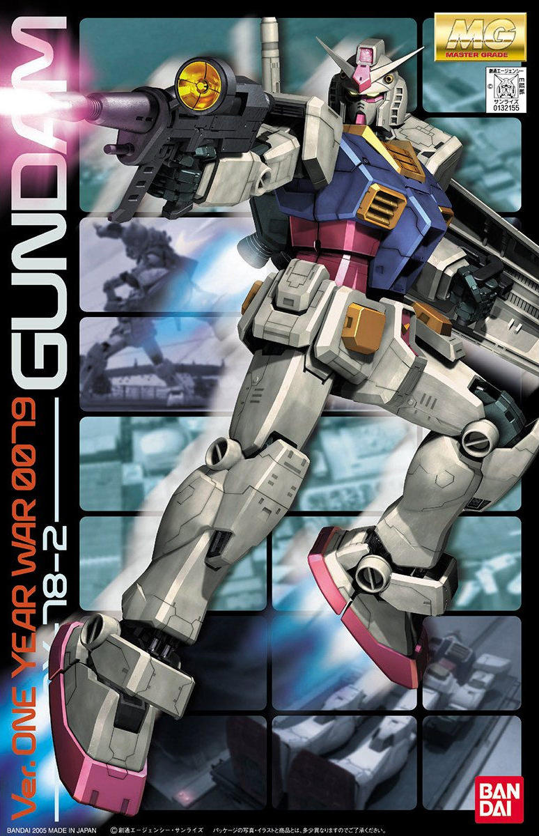 MG 1/100 RX-78-2 ガンダム Ver.ONE YEAR WAR 0079 [Gundam Ver. One Year War 0079]
