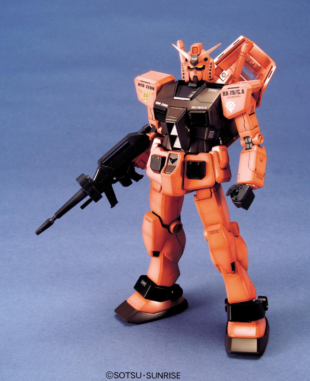 MG 1/100 RX-78/C.A キャスバル専用ガンダム [Gundam Char Aznable Custom]
