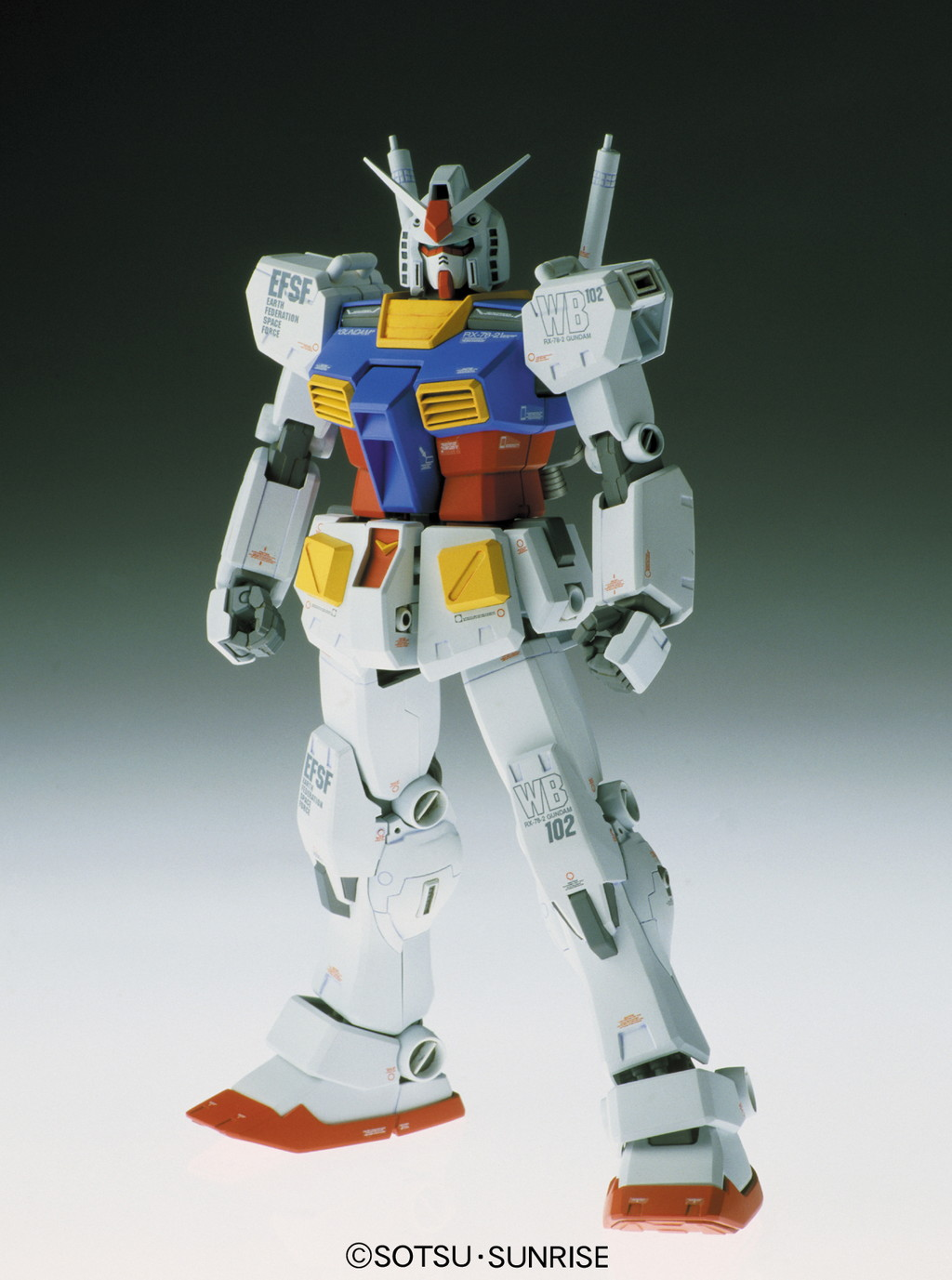 58154MG 1/100 RX-78-2 ガンダム Ver.Ka [Gundam] 0114215 4543112142153
