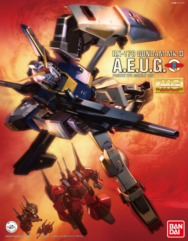 MG 1/100 RX-178 ガンダムMk-II Ver.2.0 (エゥーゴ仕様) [Gundam Mk-II Ver. 2.0] 0138412
