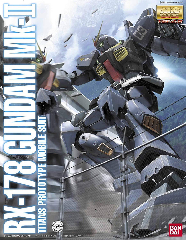 MG 1/100 RX-178 ガンダムMk-II Ver.2.0 (ティターンズ仕様) [Gundam Mk-II Ver. 2.0 (Titans)] 0141924 4543112419248 5061579 4573102615794