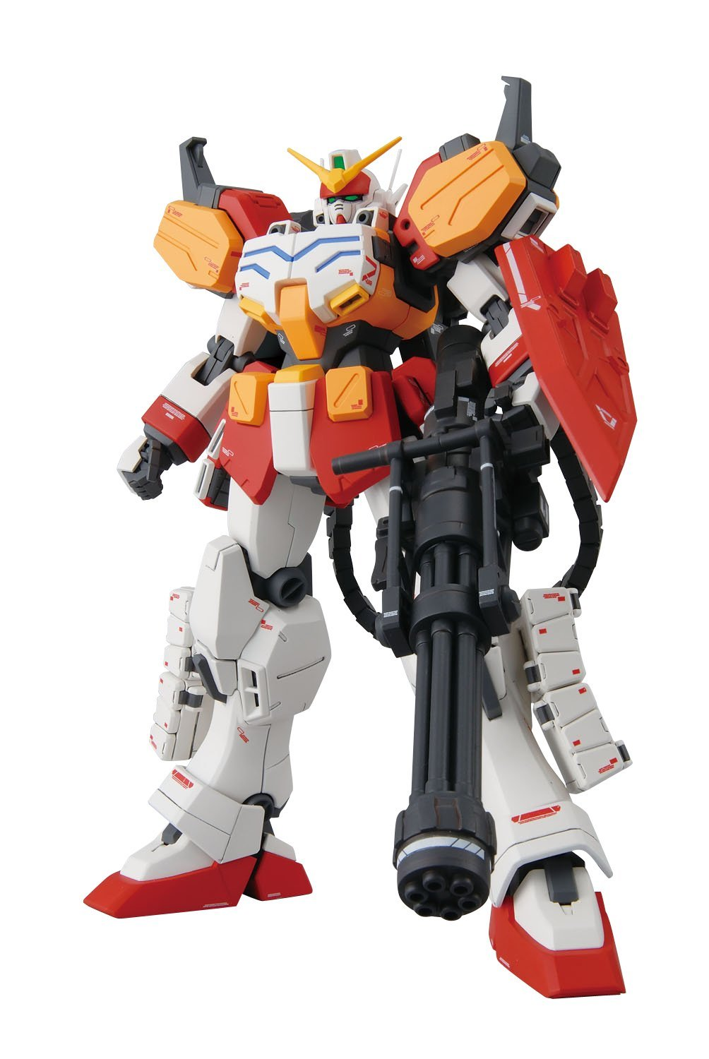 MG 1/100 XXXG-01H ガンダムヘビーアームズ EW [Gundam Heavyarms EW] 0173903 4543112739032