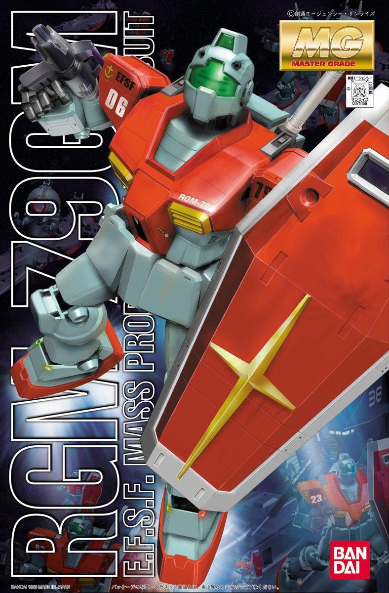 MG 1/100 RGM-79 ジム [GM]