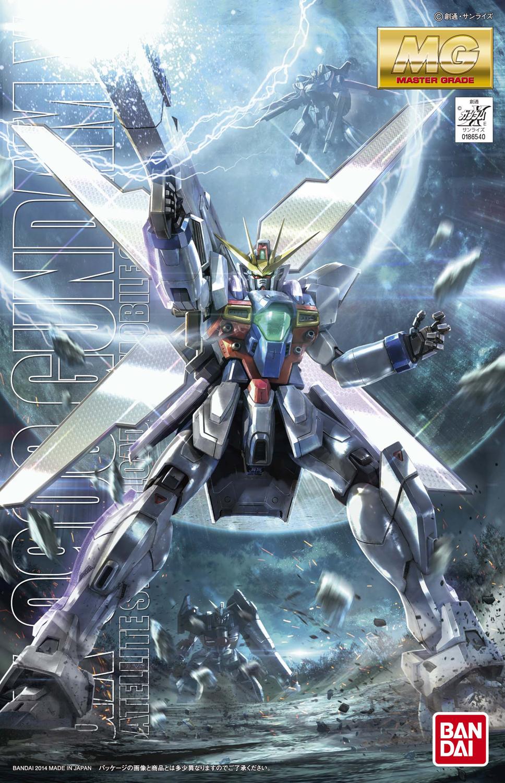 MG 1/100 GX-9900 ガンダムX(エックス) [Gundam X] 4543112865403 0186540